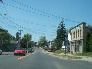 Route 5 & 20 in Seneca Falls