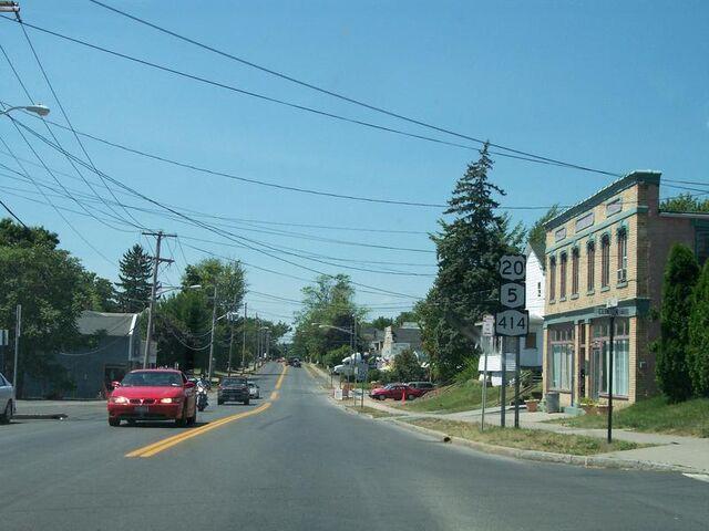 File:Route 5 & 20 in Seneca Falls.jpg