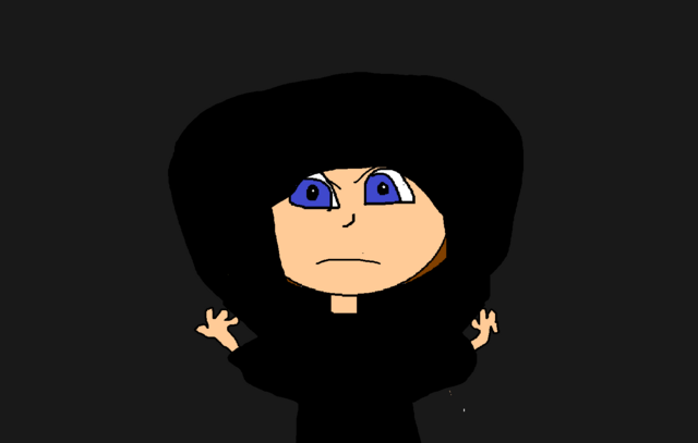 File:Shala putting a hood on before calling mike.png