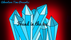 Found in the Ice - Title Card