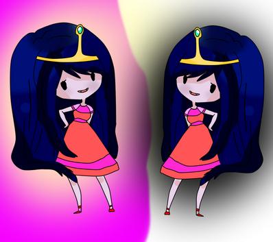 Marceline disfraz de chicle