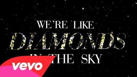 Rihanna - Diamonds (Lyric Video)