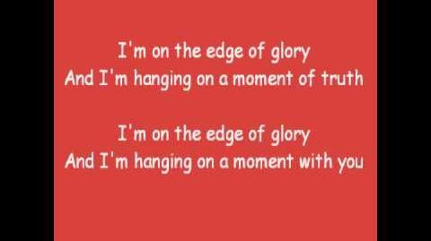 Lady Gaga - Edge of Glory Lyrics-0