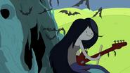 Marceline en el intro de hora de aventura