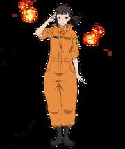 Maki anime character model