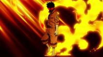 Shinra Kusakabe Abilità di Ignizione
