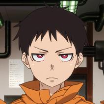 Shinra Kusakabe anime