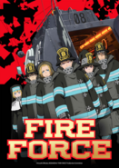 Fire Force Key Visual 3 ENG