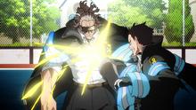 Shinra Kicks Burns