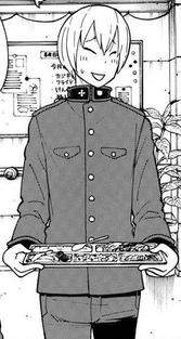 Takeru in uniform