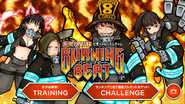 Burning Beat playable characters