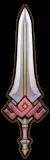 Épée rubis
