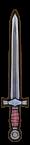 Épée acier