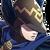 Archer bleu Portrait