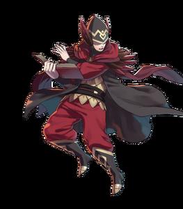 Cavalier rouge