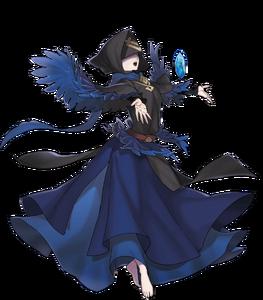 Manakete bleu
