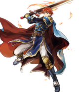 Eliwood Legend Attack