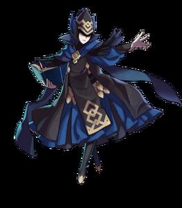 Mage bleu Emblain