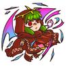 Tiki Dragon assoupi 3