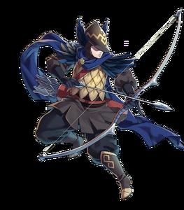 Archer bleu'