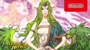 Fire Emblem Heroes - Mythic Hero (Mila Goddess of Love)