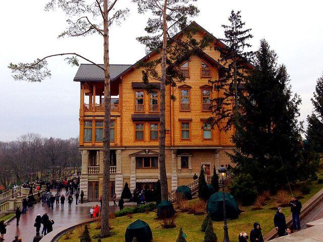 File:Honka in Mezhyhirya, side view.jpg