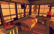 Thorofare Lookout Sleeping Area