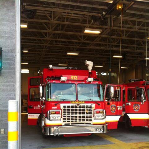Service de protection contre les incendies de la Ville de