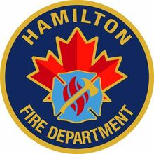 Hamilton Fire Dept logo