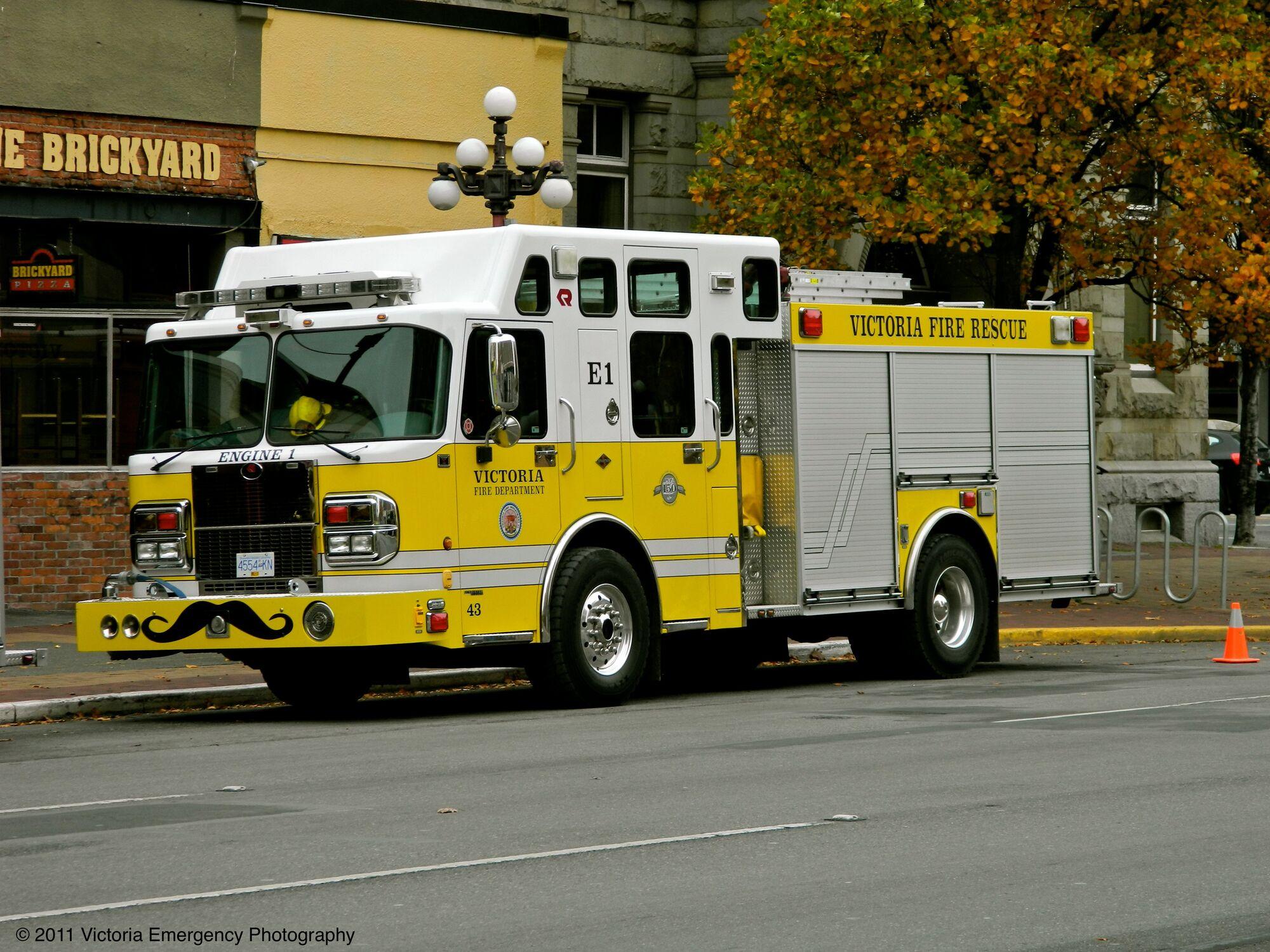 Victoria Fire Department (British Columbia)   Firefighting