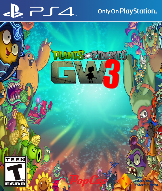 what if pvz was owned by sony plants vs zombies garden warfare 3 - Pvz Garden Warfare 3