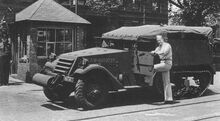 M2 Halftrack first production
