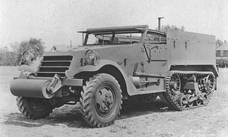 Halftrack Car, M2   FirearmCentral Wiki   FANDOM powered by