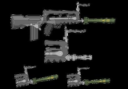 FAMAS F1 Rifle Grenades