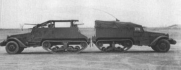 T16 Halftrack Car with M2 Halftrack