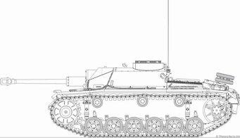 Sturmgeschütz III Ausf. G (Side, design)