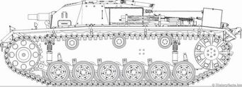 Sturmgeschütz III Ausf. A (Side, Design)