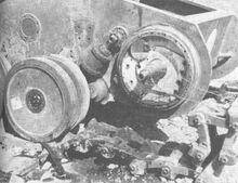 Durchbruchwagen II roadwheels