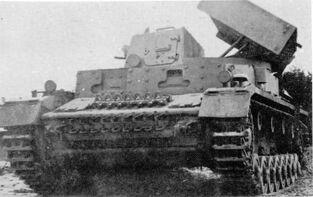 Panzerkampfwagen IV Ausf. C mit schweres Wurfgerät 41 28cm-32cm
