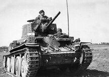 Panzerkampfwagen 38(t) Ausf A