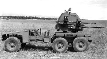 Left, Gun Rear