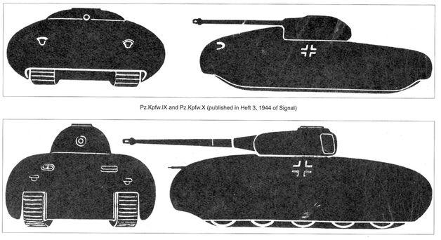 Panzerkampfwagen IX and X