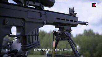 SVCh – Chukavin designated marksman rifle