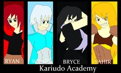 Kariudo Academy Poster Art