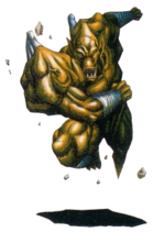 Demons Crest - Firebrand in his Earth Gargoyle form