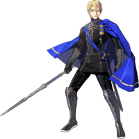 Artwork de Dimitri (estudiante) - Fire Emblem Three Houses