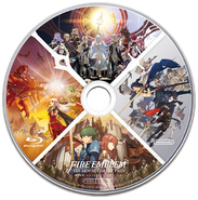 Disco Blu-ray del Fire Emblem HD Movie Collection