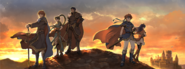 Binding Blade and Blazing Blade OST art