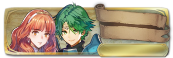 Banner Celica and Alm