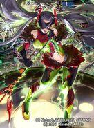 Kiria Kurono illustration by まよ for Fire Emblem Cipher Series 4